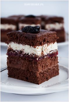 Sweet Bar, Good Food, Yummy Food, Polish Recipes, Russian Recipes, No Bake Desserts, Let Them Eat Cake, Cake Recipes, Food And Drink