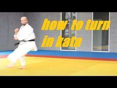 HOW TO TURN IN KATA - karate turning - TEAM KI - YouTube