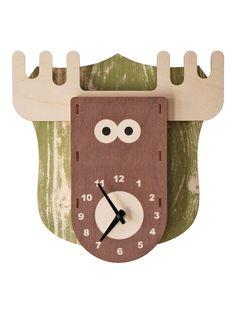 Modern Moose 3D Clock!