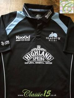 Official Kooga Glasgow home rugby shirt from the 2005/06 season.