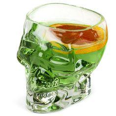 Tiki Skull Glass 24.75oz / 700ml   Tiki Cup Novelty Cocktail Glasses - Buy at drinkstuff