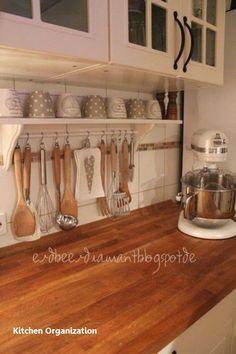 New Smart DIY Organizing Ideas For Small Kitchen #diykitchenorganization
