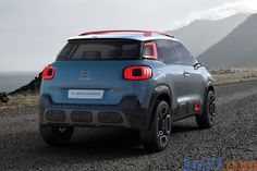 km77.com - Citroën C-Aircross Concept Todo terreno Exterior Lateral-Posterior 5 puertas