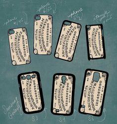 mystifying oracle ouija board Smartphone case by RedPhoenixAcc