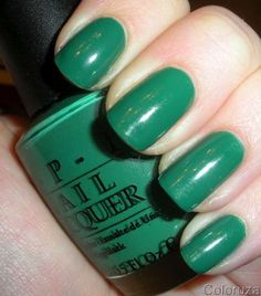Nail Polish that I must have.  I love green and blue on my nails.   Looks like I need to head to Sephora or Ulta sometime soon to stock up on some new shades!