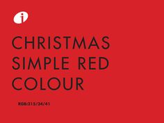 The red color ... what would Christmas be without it? Time for warmth, to share, for life. We hope you enjoy a passion red during all this season.