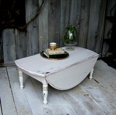 Shabby Sheek Coffee Tables | Nine Red: Before & After - Coffee Table