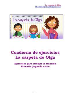 Cuaderno ejercicios la carpeta ( 3º prim)