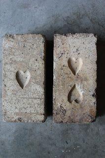 Heart bricks Probably of Queensland origin