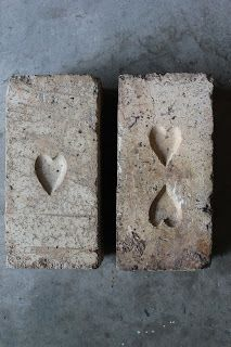 Heart bricks Probably of Queensland origin