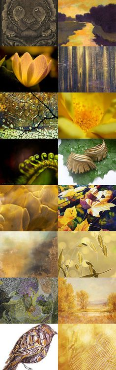 Golden Season by Linda Voth on Etsy--Pinned with TreasuryPin.com