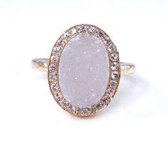love druzy agate jewelry