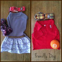 ¿Buscas un outfit para tus perrunos? En cada visita te ayudamos a encontrarlo. #FriendlyDog #Apparel #Dogs #Outfit