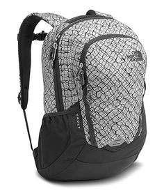 27f1262af5 The North Face Vault Backpack - Lunar Ice Grey Chainlink Print - One Size
