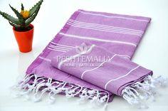 Peshkir   Peshtemal Set - Cotton Hair Towel Turkish Towel Linen Sheet French Tea Towel French Kitchen Cloth Face Towel Hand Towels Purple