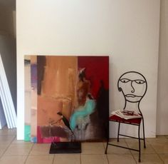 My chair and painting