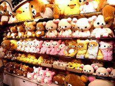 Rilakkuma store in Tokyo *.*