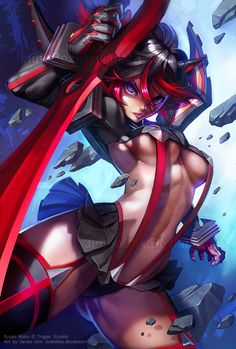 Ryuko Matoi by JimboBox.deviantart.com on @deviantART