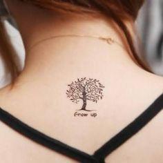 Resultado de imagen de arbol tattoo bonito