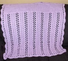 Made to order: New crochet handmade baby blanket, afghan, throw by…