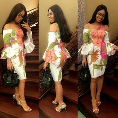 Beautiful Ankara Short Gown Design .... Beautiful Ankara Short Gown Design