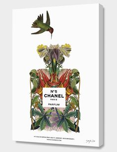 """CHANEL NO. 5�"", Numbered Edition Canvas Print by Sixto-Juan Zavala - From $89.00 - Curioos"