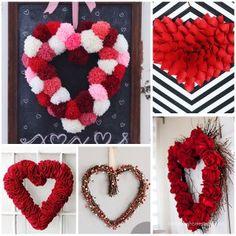 valentine wreath craft idea for valentines day - 800×800