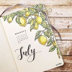 10 Bullet Journal Themes For July That Are Perfect For Summer Break! stunning cover ideas for your bullet journal that you need to try! July cover ideas that are full of life and perfect for summer. Get bullet journal inspiration here! Bullet Journal Inspo, Bullet Journal With Calendar, Bullet Journal Cover Ideas, Bullet Journal 2020, Bullet Journal Notebook, Bullet Journal Aesthetic, Bullet Journal Spread, Bullet Journal Layout, Journal Covers