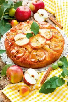 Gâteau aux pommes renversé1
