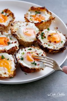 Hash Brown Egg Cups