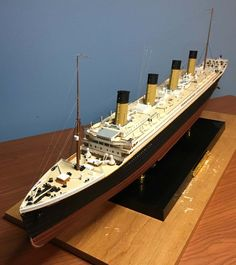 The most famous steampunk ship ever - Steampunk Titanic Titanic Art, Titanic Model, Real Titanic, Titanic Ship, Model Sailing Ships, Model Ships, Steampunk Ship, Science Models, Model Ship Building