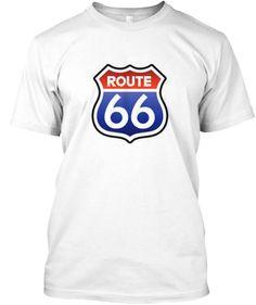 T-shirt Route 66 (stock limité)