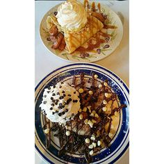 I think about food 24/7 #crepes #food #sweet #chocolate #eclair #chocolatechip #whippedcream #nutella #foodpics #instafood #foodiechats #foodstagram #love #latergram #diabetes #brunch #apples #fresh #french #YUM #delicious #wantmore #instagood #foodblogs #blogger #annarbor #tasteofmichigan #myfab5 #perfect #dessert by adventuresoftheyim