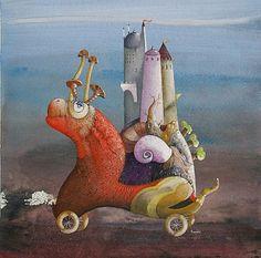 Pinzellades al món - Les il·lustracions de Silvano Braido: mons imaginaris, éssers fantàstics