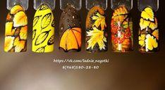 59 ideas for nails design fall thanksgiving Fall Nail Art, Autumn Nails, Winter Nails, Diy Nail Designs, Nail Designs Spring, Fun Nails, Pretty Nails, Nails 2017, Seasonal Nails
