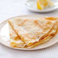 Crepes with Sugar and Lemon
