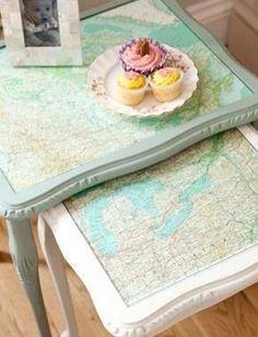 Tafeltjes landkaart