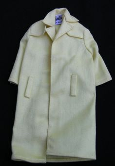 Vintage Barbie Doll Clothes 1960's yellow rain coat by MjMirage, $16.50