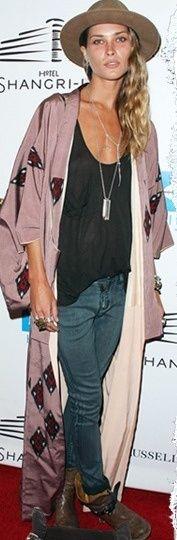 Erin Wasson - style - mode - clothes - kimono