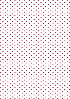 Little red hearts wallpaper.