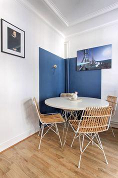 Casinha colorida: Três projetos retrôs charmosos com predominância do azul