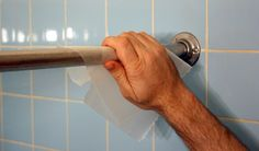 Wax paper to help curtain rod run smooth