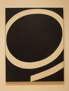 too much art - flasd: Ellsworth Kelly, Running White, 1959.