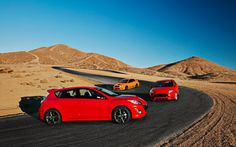 2013 Mazdaspeed3 vs. 2013 Ford Focus ST vs. 2013 Subaru WRX Special Edition - Comparison - Motor Trend