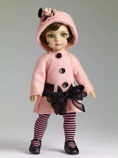 Patsy Collection - Patsy's Town Coat Outfit $89.99 | Tonner Doll Company