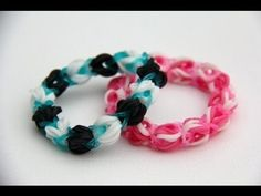 (al gemaakt) Rainbow Loom Nederlands Bubblegum Cotton Candy Strawberry Power Bracelet. Engelse versie : http://www.youtube.com/watch?v=LR12mLzsqr8