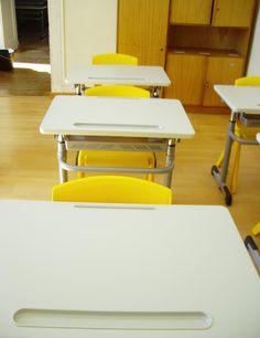 Sala da Turma B, do 1.º ano.