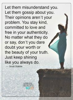 Lessons Learned in Life | Just keep on shining.