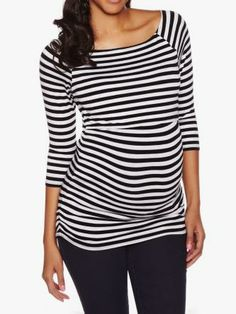 Shop online for Stripe & Shirring Nursing Top. Find Tops, Nursing and more at Thyme Nursing Wear, Nursing Tops, Nursing Shirt, Stylish Maternity, New Dads, Mom And Baby, Topshop, Bump, How To Wear