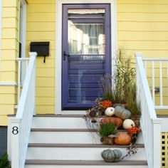 relaxing/inspiring/energizing style & curb appeal